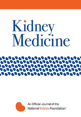 Kidney Medicine журнал лечение почек картинка