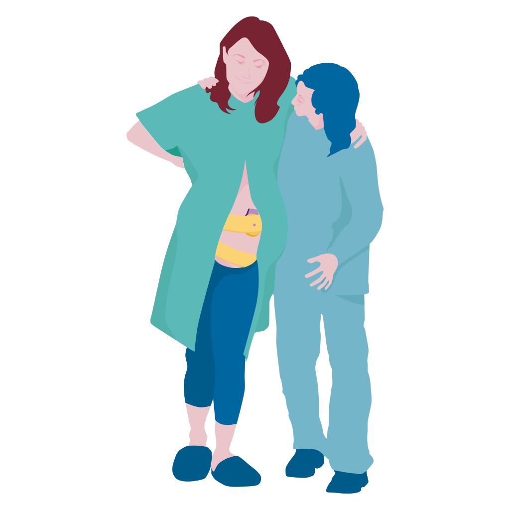 беременная женщина после трансплантации