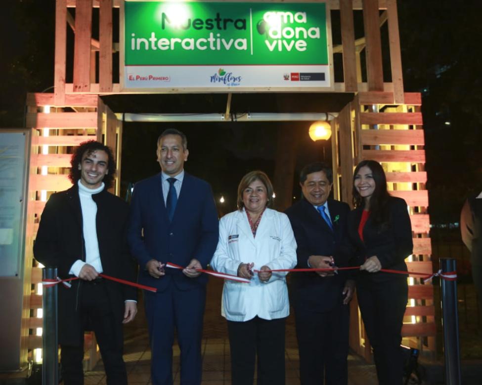 выставка о донорстве Перу картинка